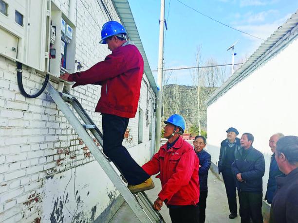 """方山:""""煤改电""""给居民带来清洁又实惠的""""暖冬"""""""
